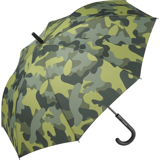 Performance Automatic Opening Walking Length Camouflage Umbrella - Jungle