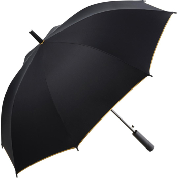 UV Protective SPF50+ Two-Tone Automatic Opening Walking Length Umbrella - Black & Gold