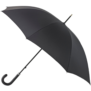 Fulton Governor - Black Walking Length Umbrella for Gents