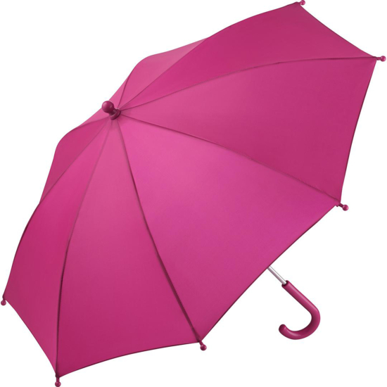 Performance Range Children's Walking Length Umbrella by Fare - Fuchsia Pink