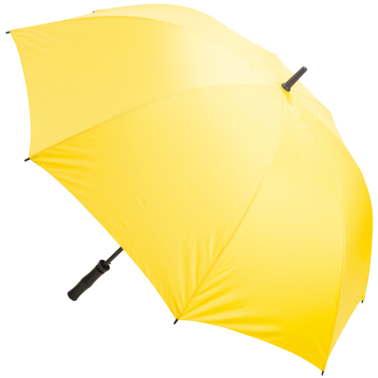 Premium Fibreglass Golf Umbrella - Yellow