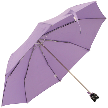Cat Folding Umbrella by Rainbow of Milan - Lilac