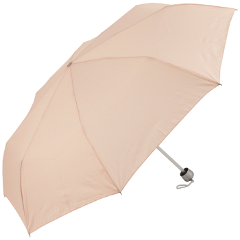 Mini Colours - Plain Coloured Folding Umbrella - Nude