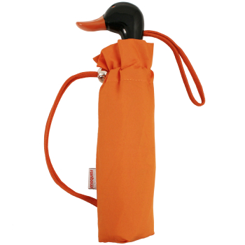 Duck Folding Umbrella by Rainbow of Milan - Orange