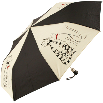 Minet Minette Auto Opening Folding Umbrella by Guy de Jean